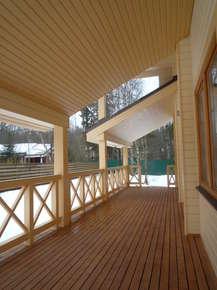 Покраска деревянного дома - чтобы надолго и красиво
