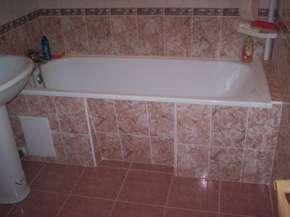 Экран для ванной своими руками из плитки